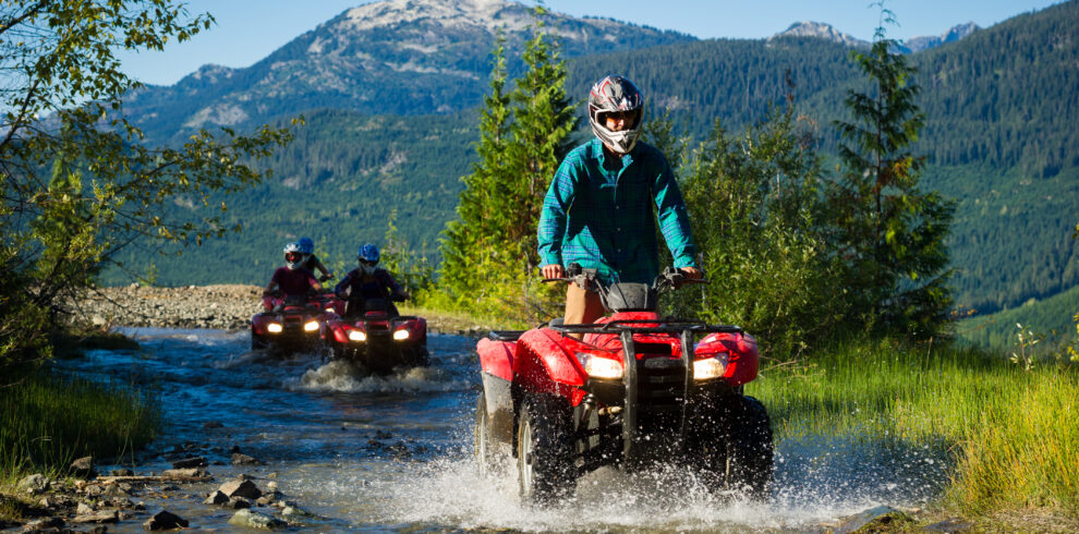 Callaghan ATV tour with Canadian Wilderness Adventures